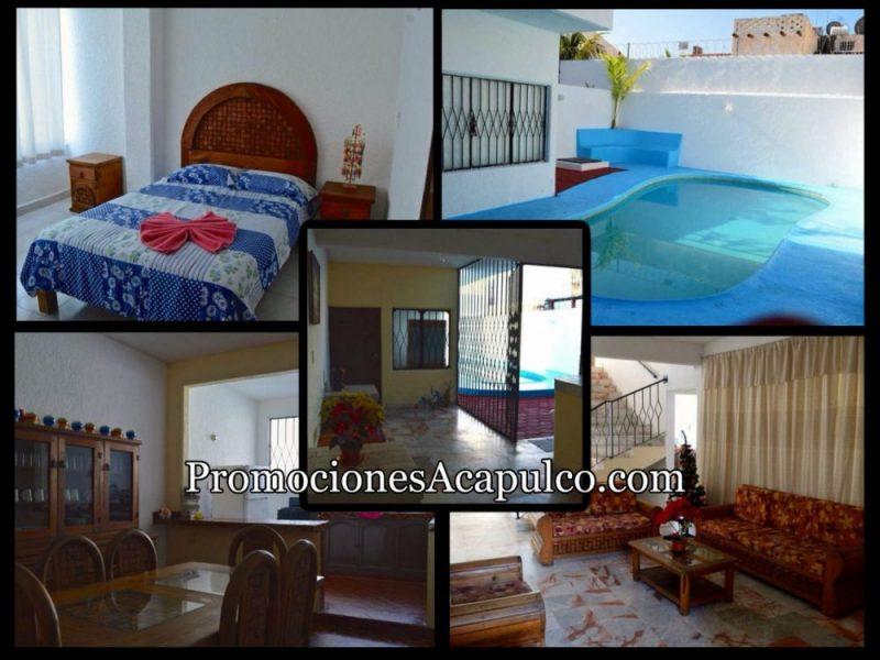 Casa de vacaciones en Acapulco